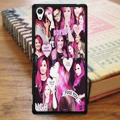 Demi Lovato Haircolor Collage Sony Experia Z4 Case