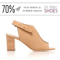 Beautiful shoes like this gorgeous Loeffler Randall sandal and more! 70% off at In Her Shoes! Don't forget to vote for us for best shoe store!   For more new releases, promotions and special events, visit us at www.inhershoestore.com to sign up for emails. #inhershoestore #shoe #LOVE #perfectforsummer #beautiful #footwear #shoes #summer2014 #sass #walkfashionably #musthave #style #fashion2014 #trend #shop #need #shopnow #shoesforsummer2014