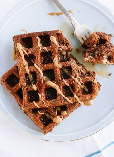 Gluten-Free Buckwheat Waffles - Cookie and Kate