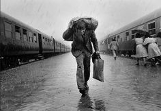 Nikos Economopoulos - The Central Railway Station, Tirana, Albania, 1991