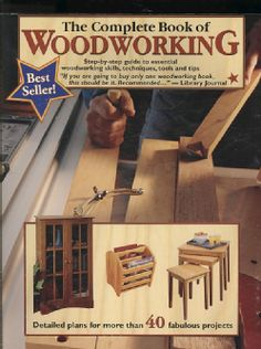 The Complete Book Of Woodworking (paperback)