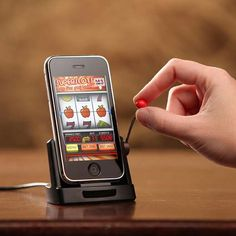 iPhone Jackpot Slots a gambling iPhone accessory that would make a great gift! #play4perks www.play4perks.me