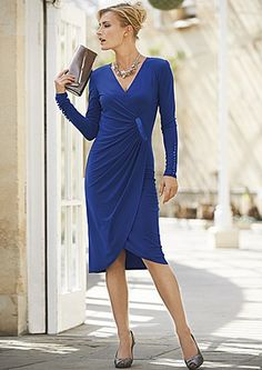 Joseph Ribkoff Jersey Wrap Dress £220