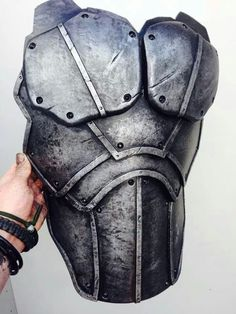 Large, chunky rigid plates for Heavy Armour. Cosplay Armor, Cosplay Diy, Cosplay Costumes, Eva Foam Armor, Arte Steampunk, Armadura Cosplay, Dystopia Rising, Grandeur Nature, Costume Armour