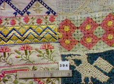sampler, embroidery (large)