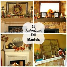 Nothing says 'fall is here!' like a mantel decked out for the season. There are so many different trends going on right now (classic, rustic, neutral, colorful, etc…) and I love all of them! Here are 15 that caught my eye. I've listed the links below the pictures so be sure to stop by and give them some …