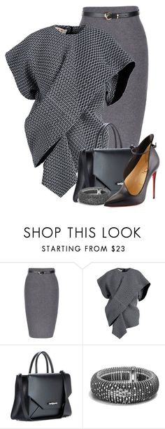 """Marni & Louboutin Work Attire III"" by flowerchild805 ❤ liked on Polyvore featuring Marni, Givenchy, David Yurman and Christian Louboutin"