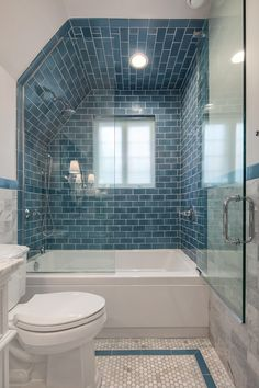 """""""Browse photos of Small Bathroom Tile Design. Find suggestions and inspiration for Small Master Bathroom Tile Design to enhance your house. Bathroom Tile Designs, Bathroom Interior Design, Modern Bathroom, Small Bathroom, Bathroom Ideas, Minimalist Bathroom, Classic Bathroom, Bathroom Organization, Small Bathtub"""