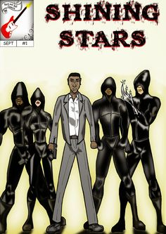 Shining Stars La nueva serie de relatos que podrás encontrar en www.rockandrollcomics.blogspot.com.es