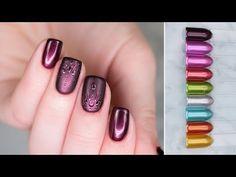 Metaliczna kolekcja SEMILAC Metallic Effect | prezentacja odcieni + apli... Nail Polish, Gel Nail, Nails Inspiration, Metallica, Youtube, Beauty, Gel Nails, Nail Polishes, Polish