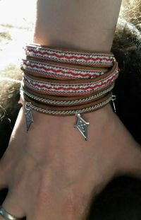 Textiles, Handicraft, Cuff Bracelets, Life, Jewelry, Design, Fashion, Blogging, Craft