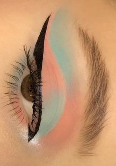 Makeup Eye Looks, Eye Makeup Steps, Eye Makeup Art, Eyebrow Makeup, Skin Makeup, Smokey Eye Makeup Tutorial, Makeup Looks Tutorial, Eye Makeup Designs, Make Up Inspiration