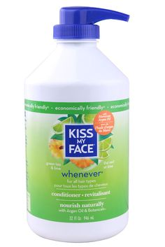 Kiss My Face Whenever® Conditioner Green Tea and Lime
