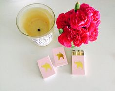 PINK ELEPHANT Matchboxes by annechovie on Etsy