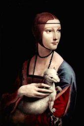 Léonard de Vinci – La dame à l'hermine