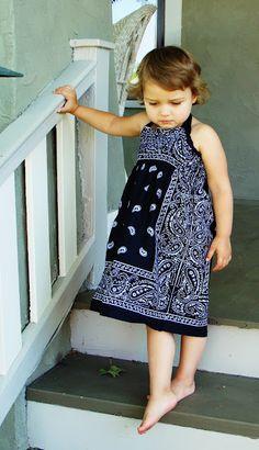 Cute Bandana Dress