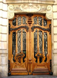 151 rue de Grenelle, Paris. Beautiful art nouveau design