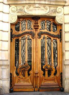 151 rue de Grenelle, Paris. Beautiful art nouveau design