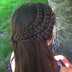 "Gefällt 2,440 Mal, 31 Kommentare - Your Braids (@yourbraids) auf Instagram: ""Braid by @braidsbygabby"""