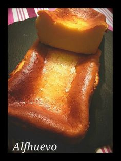 Tarta de queso al horno.
