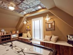 Install a Vintage Style Stamped-Tin Ceiling