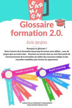 Glossaire De La Formation 2 0 Via Sophieturpaud Formation De Formateur La Formation Glossaire