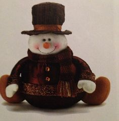 $19.95 Golden sparkle snowman.