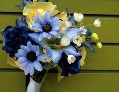 Blue+Yellow Bouquet
