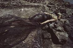"""Water & Oil"" by Steven Meisel: Vogue Italia 2010"