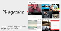 Magazine - News / Blog / Review Theme - http://fitwpthemes.com/magazine-news-blog-review-theme/