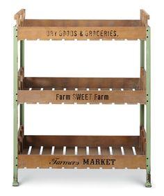 General Store Tray Shelf #zulily #zulilyfinds