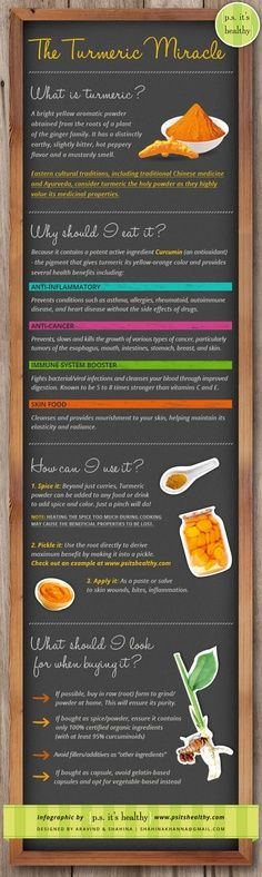 What is Turmeric? Get the amazing answers from this infographic. | #healthy
