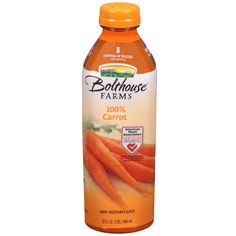 Bolthouse Farms 100% Carrot Juice found on Polyvore