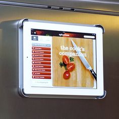 TATANG. ThinkGeek - FridgePad - Magnetic Refrigerator Mount for iPad - $49.99
