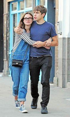 Keira Knightley and James Righton