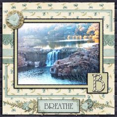 A picture taken at Medicine Park.  Kit used: Ooh La La's Just Relax.  Template by LissyKay Designs.