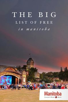 Free things to do in Manitoba | We love free stuff in Manitoba. Like, really love it. Being thrifty is our thing. We're good at it. So much so that we have plenty of free events and attractions to show for it. So put your wallet away, for here's a nice big list of stuff you can do when you need a budget-friendly day out. www.manitobahot.com #exploremb