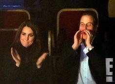 """Kate Middleton comemora o aniversário assistindo """"Cirque du Soleil"""""""
