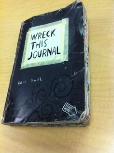 Wreck This Journal. A twist on the boring, old journal idea. A great way to keep track of everything you did and a unique souvenir in the end.