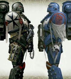 Black Templar & Crimson Fist