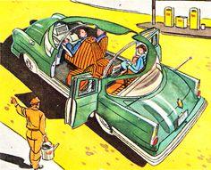 source: Die Welt von Morgen, Birkel-Sammelalbum, 1959