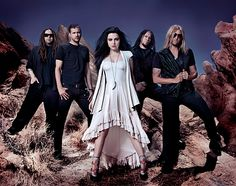Evanescence...my fav band...EVER...jus sayin..amy lee is perfection :)