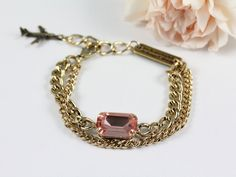 Chain bracelet. Awesome for stacking!