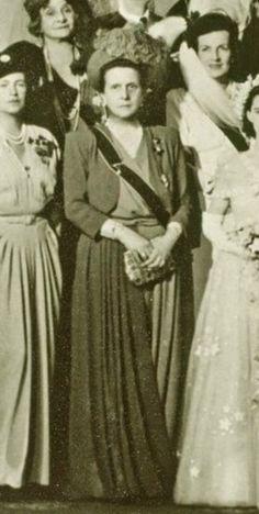 Princess Alice of Greece, mother of the bridegroom