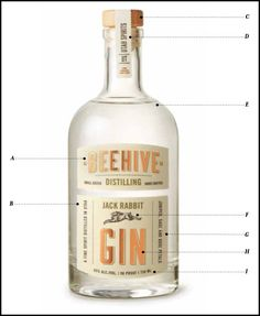 A Strategic Approach to Craft Spirits Branding – The Anatomy of Package Design Food Packaging Design, Bottle Packaging, Coffee Packaging, Label Design, Package Design, Design Design, Graphic Design, O Gin, Label Shapes
