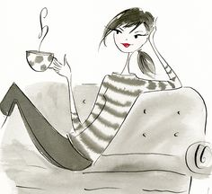 Coffee Couch, by Anne Keenan Higgins