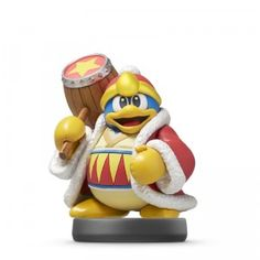 The King Dedede amiibo figure from Nintendo is Kirby's arch frenemy.
