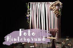 DIY Hintergrund für euer Photobooth bei der Hochzeit