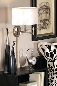 Wall Mounted Lights For Bedroom Endearing Swing Arm Lamps From Lowe's  Home Is Where The Art Is  Pinterest Design Inspiration
