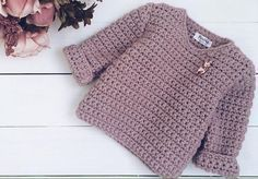 44 Ideas For Crochet Sweater Pattern Free Charts Crochet Toddler Sweater, Crochet Baby Sweater Pattern, Crochet Baby Sweaters, Baby Girl Crochet, Crochet Baby Clothes, Crochet Jacket, Crochet Cardigan, Baby Knitting Patterns, Crochet Patterns